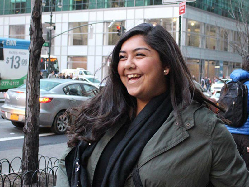 Diana Gonzalez, a third-year student at Tulane University, has been named a Newman Civic Fellow