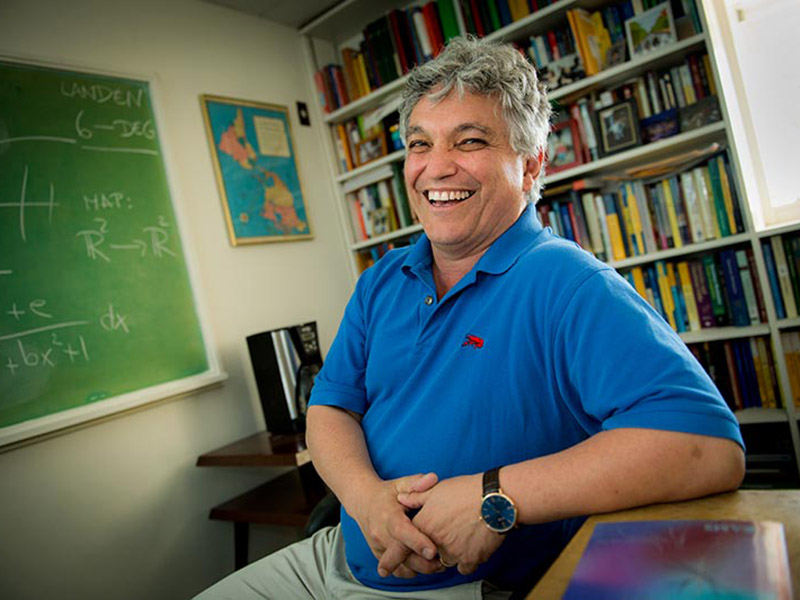 Victor Moll created six new graduate courses to introduce students to new topics outside of traditional math studies.