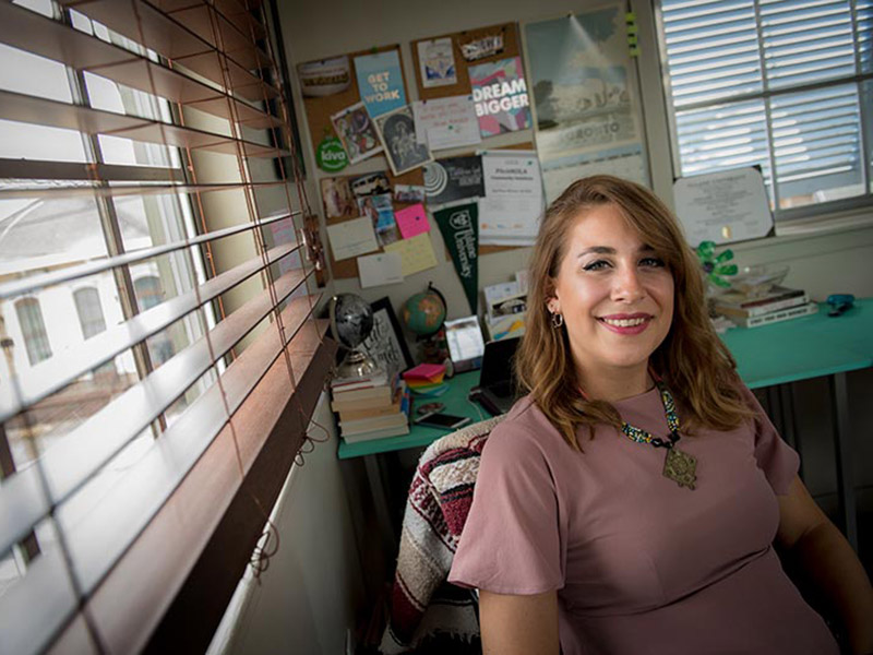 Tulane alumna Haley Burns is the executive director of Fund 17, a nonprofit dedicated to helping local entrepreneurs develop small businesses. The organization's moniker is dedicated to the 17 wards of New Orleans.