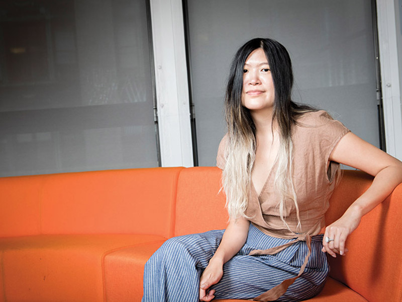 At BuzzFeed, Peggy Wang plays a pivotal role in the company's success.