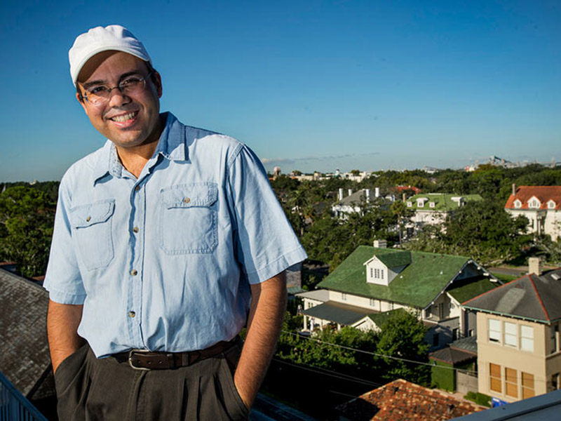 Richard Campanella says his research into the hidden geography of New Orleans is often motivated by deep personal curiosity.