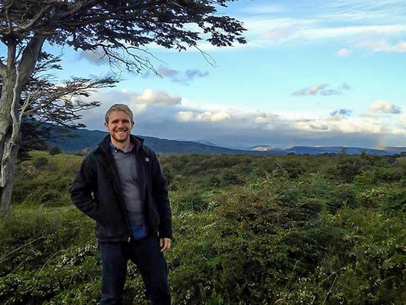 School of Public Health and Tropical Medicine doctoral student Ted Miles will research parental attitudes toward adolescent gender and sexuality and their effects on HPV vaccinations in Peru as a Fogarty Global Health Fellow. (Photograph provided by Ted M