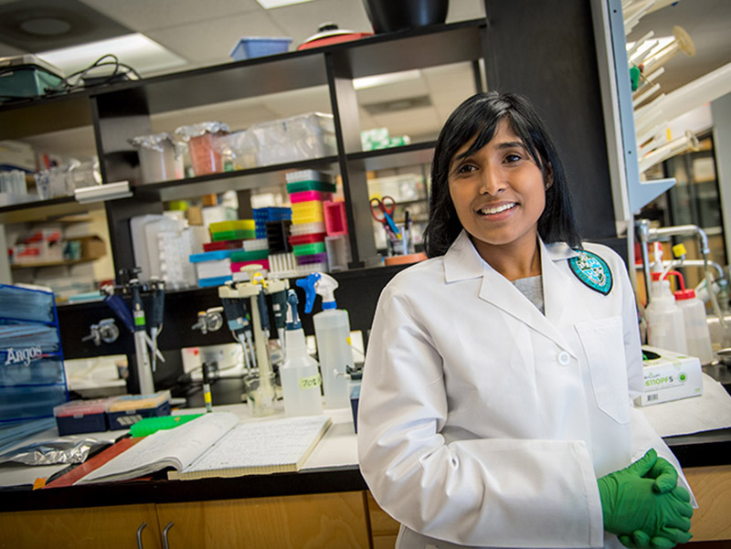 Formerly the animal facility laboratory supervisor at the Africa Health Research Institute in Durban, South Africa, Chivonne Moodley is now joining a Tulane University tuberculosis research team.