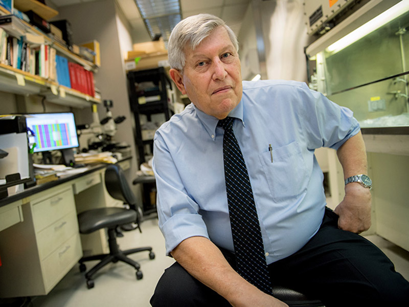 Dr. Donald Krogstad, professor of tropical medicine at Tulane University School of Public Health and Tropical Medicine, developed a new treatment against drug-resistant strains of the Plasmodium falciparum parasite that causes malaria.