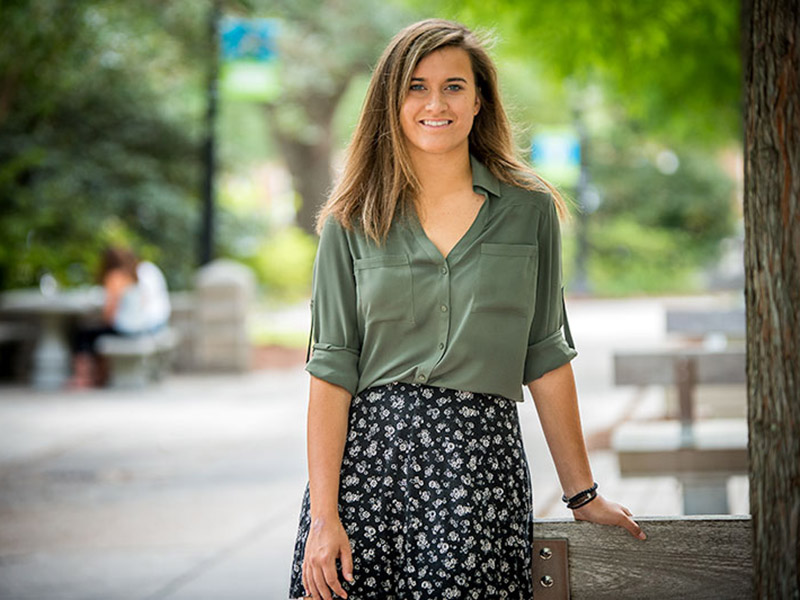 Hannah Hoover is one of 20 students selected nationally for the Beinecke Scholarship
