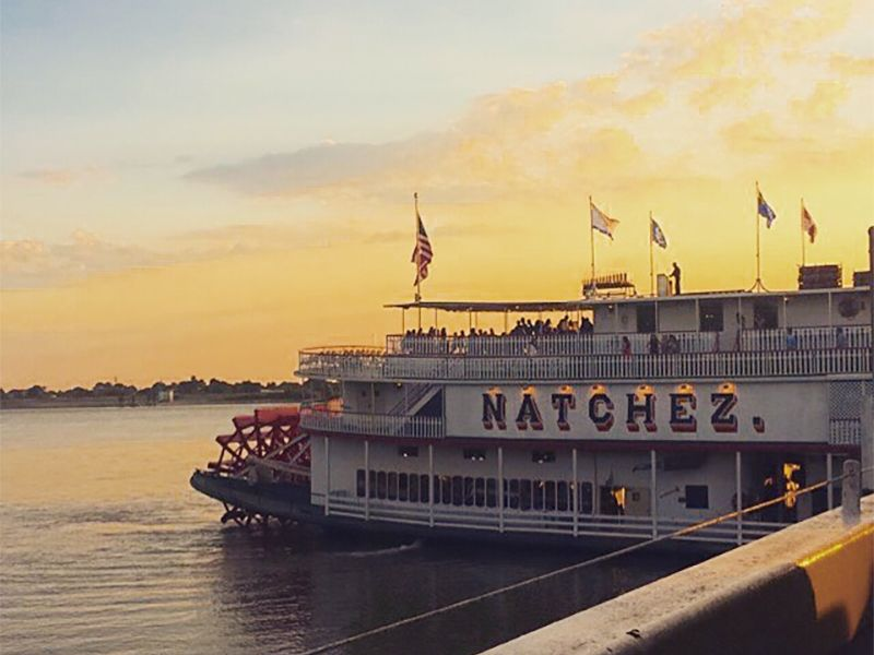 Photo of the Natchez steamboat taken for the 2015 Presidential Photo Challenge